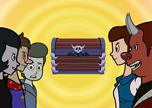 Monster Academy, Pirate Treasure! 4: Treasure Hunters