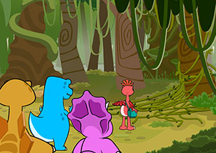Dino Buddies 6: Vines
