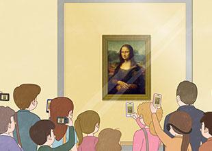 Mona Lisa on the Move