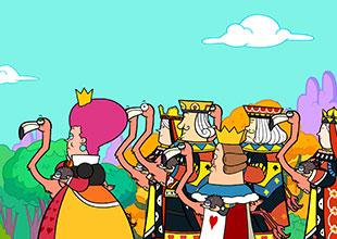 Alice's Adventures in Wonderland 16: A Royal Croquet Game