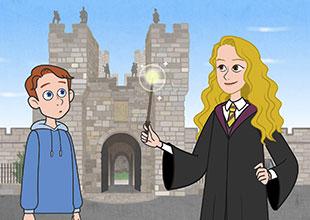 A Magical Castle Tour through Time