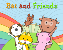 Bat and Friend